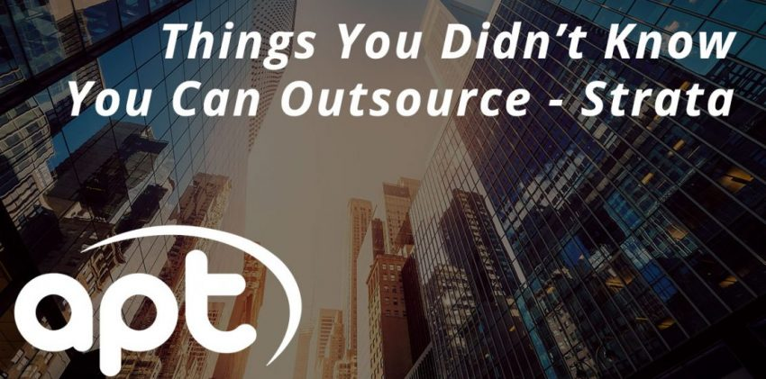 Things you didn't know you can outsource - Strata edition